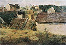 Paul Gauguin Rural Constructions 1880