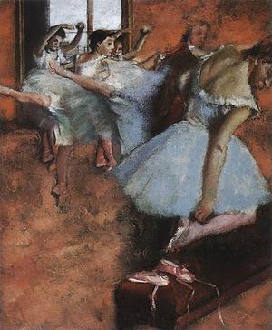 Edgar Degas The Dance Class 1880