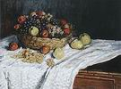 Claude Monet Still Life with Grapes and Apples 1880
