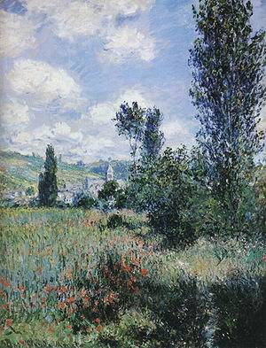 Claude Monet Path in the Isle Saint-Martin 1860