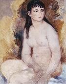 Pierre Auguste Renoir Seated Nude 1880