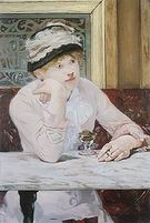 Edouard Manet Plum Brandy 1878