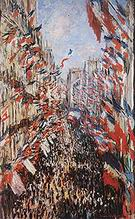Claude Monet Rue Montorgueil Paris Festival of June 30 1878 1878