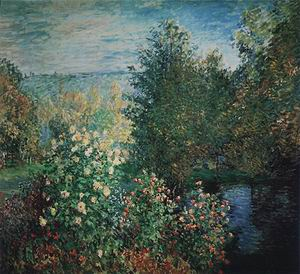 Claude Monet The Corner of the Garden at Montgeron 1876-77