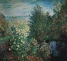 Claude Monet The Corner of the Garden at Montgeron 1876-77