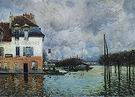 Alfred Sisley Flood at Port Marly 1876