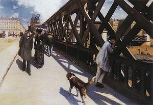 Gustave Caillebotte The Pont de L'Europe 1876 1