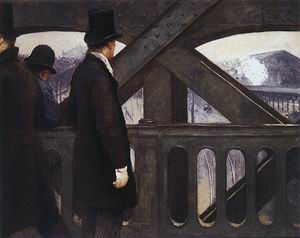 Gustave Caillebotte The Pont de L'Europe 1876 (2)