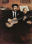 Edgar Degas Lorenzo Pagans and Auguste De Gas 1871-72