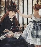 Edouard Manet The Railway 1872