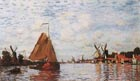 Claude Monet The Zaan at Zaandam 1871