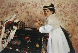 Edgar Degas Hortense Valpincon 1871