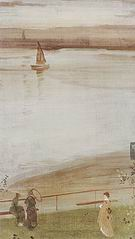James McNeill Whistler Variations in Violet and Green 1871