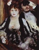 Pierre Auguste Renoir The Loge (the Box) 1874