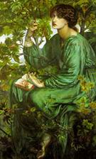 Dante Gabriel Rossetti The Day Dream 1880