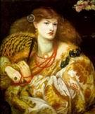 Dante Gabriel Rossetti Monna Vanna 1866