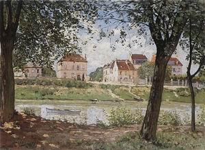 Alfred Sisley Villeneuve-la-Garenne on the Seine 1872