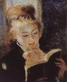 Pierre Auguste Renoir The Reader c1874