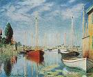 Claude Monet Pleasure Boats at Argenteuil 1875
