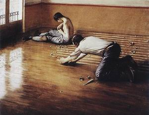 Gustave Caillebotte Floor Scrapers 1876
