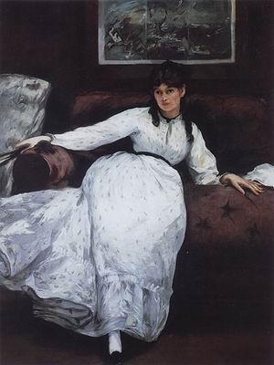 Edouard Manet Repose of Berthe Morisot 1870