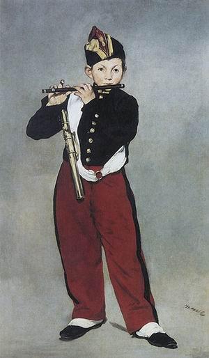 Edouard Manet The Fifer 1866