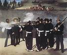 Edouard Manet The Execution of the Emperor Maximilian 1867