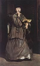 Edouard Manet Street Singer 1862