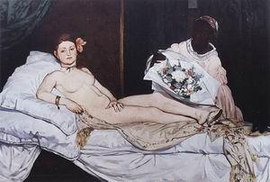 Edouard Manet Olympia 1863