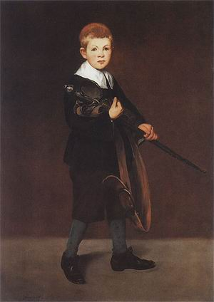 Edouard Manet Boy with a Sword 1861
