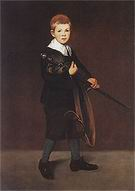 Edouard Manet Boy with a Sword 1861