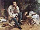 Gustave Courbet The Proudhon Family in 1853