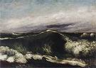Gustave Courbet The Wave 1869