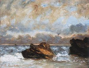 Gustave Courbet Small Seascape 1872