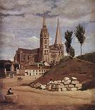 Jean Baptiste Corot Chartres Cathedral 1830