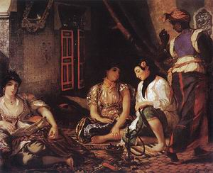 Eugene Delacroix Women of Algiers in Their Apartment 1834