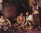 Eugene Delacroix Women of Algiers in Their Apartment 1834