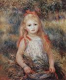 Pierre Auguste Renoir The Litte Gleaner 1888