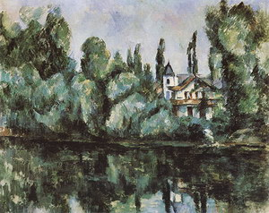Paul Cezanne The Banks of the Marne 1888