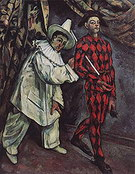 Paul Cezanne Mardi Gras 1888