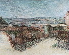 Vincent van Gogh Allotments on Montmartre 1887