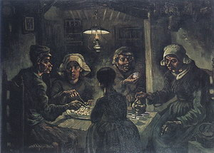 Vincent van Gogh The Potato Eaters 1885