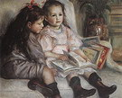 Pierre Auguste Renoir The Children of Martial Caillebotte 1895