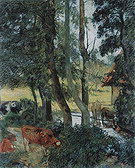Paul Gauguin Cattle Drinking 1885