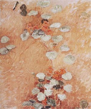 Gustave Caillebotte Nasturtiums 1892
