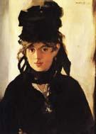 Edouard Manet Berthe Morisot 1872