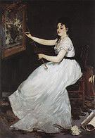 Edouard Manet Portrait of Eva Gonzales c1869