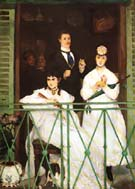 Edouard Manet The Balcony 1868