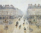 Camille Pissarro Avenue de l'Opera (Snow Effect Morning) 1898