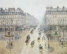 Camille Pissarro Avenue de l'Opera (Snow Effect Morning) 1898